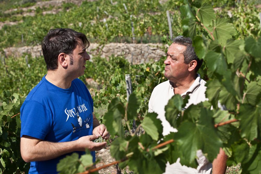 Sebio y Jose en A Falcoeira, O Bolo